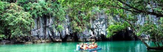 FIUME SOTTERRANEO DI PUERTO PRINCESA (FILIPPINE)