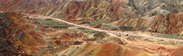 CINA: Parco Geologico Nazionale Danxia – Monti arcobaleno