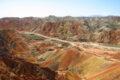 CINA: Parco Geologico Nazionale Danxia - Monti arcobaleno